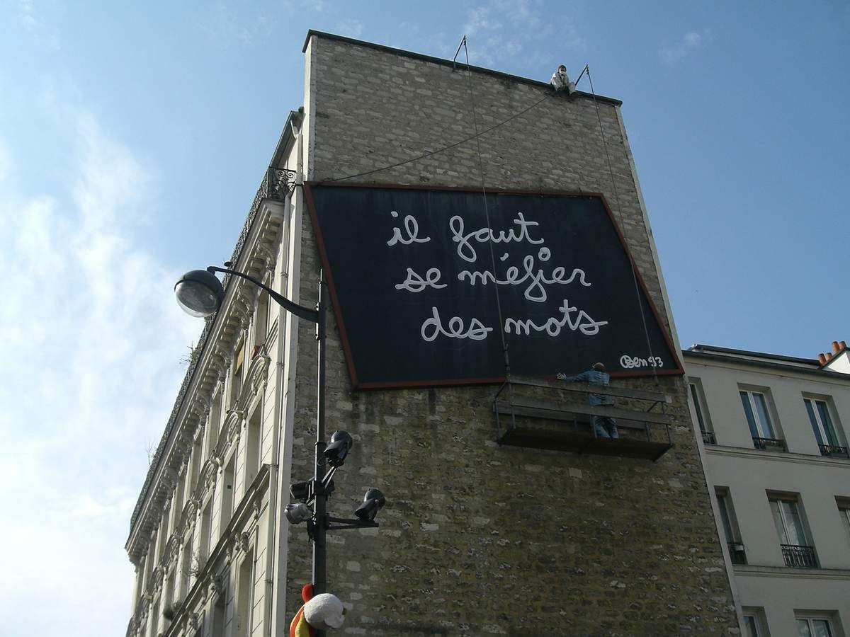 Rue de Belleville Parisd 20°
