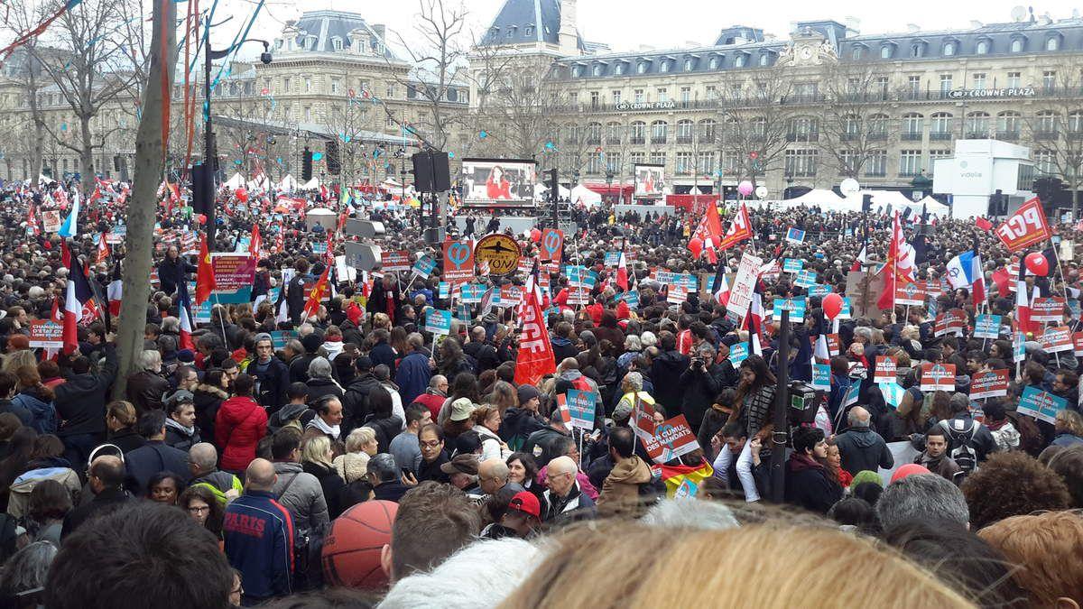 Bastille République de la France Insoumise