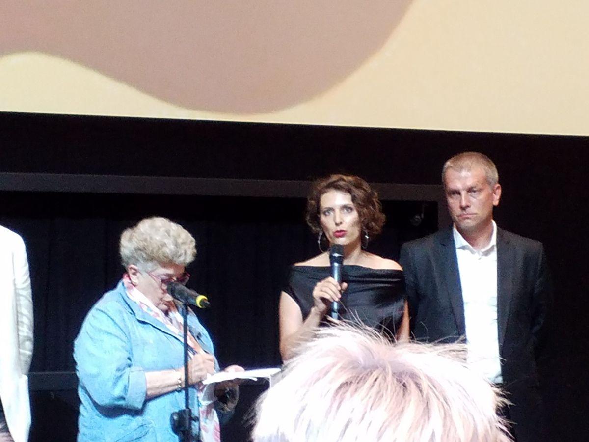 Natasha Merkulova et Aleksey Chupov, réalisateurs de The man who surprised everyone.