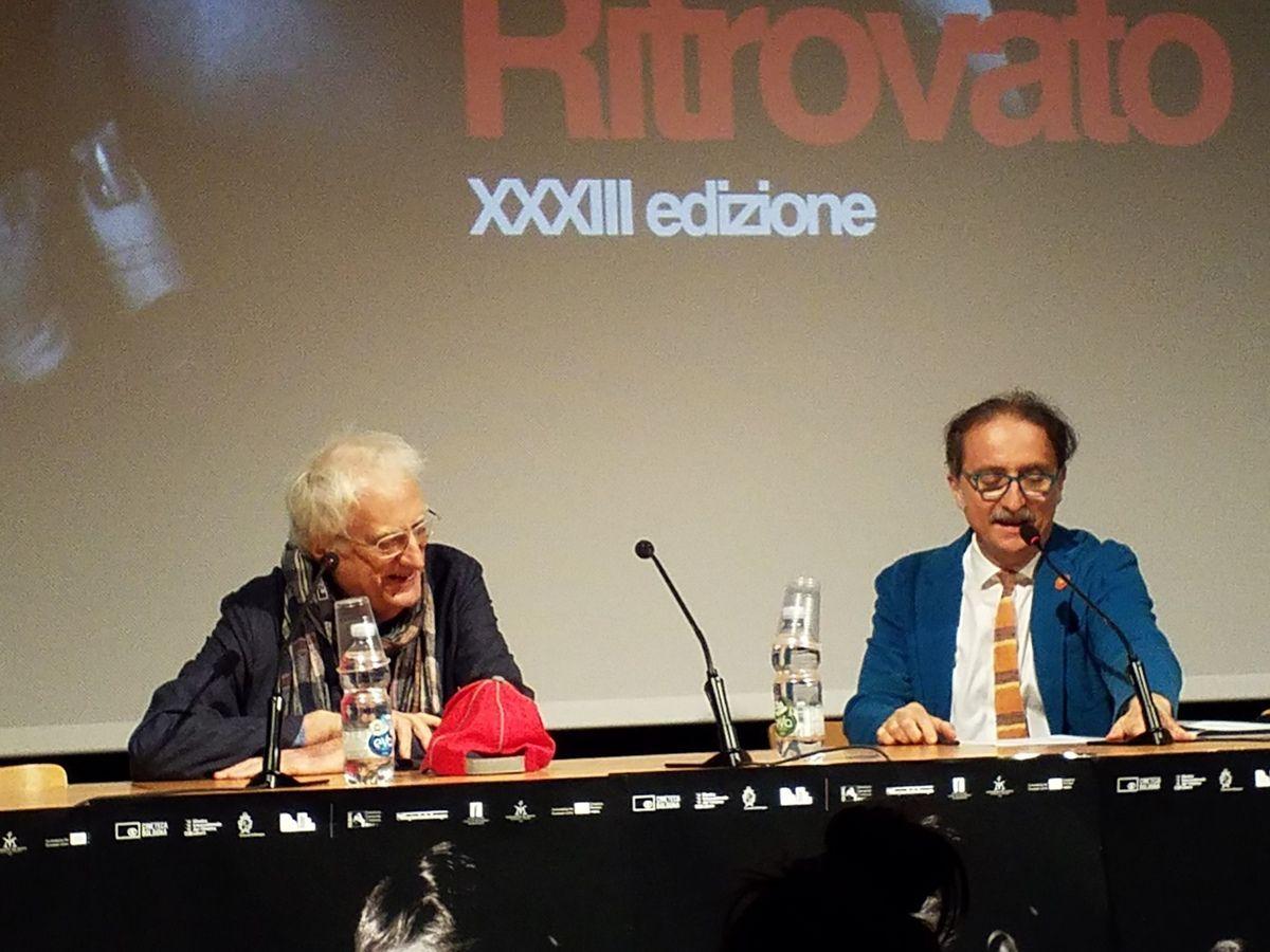 Cinéma retrouvé à Bologne