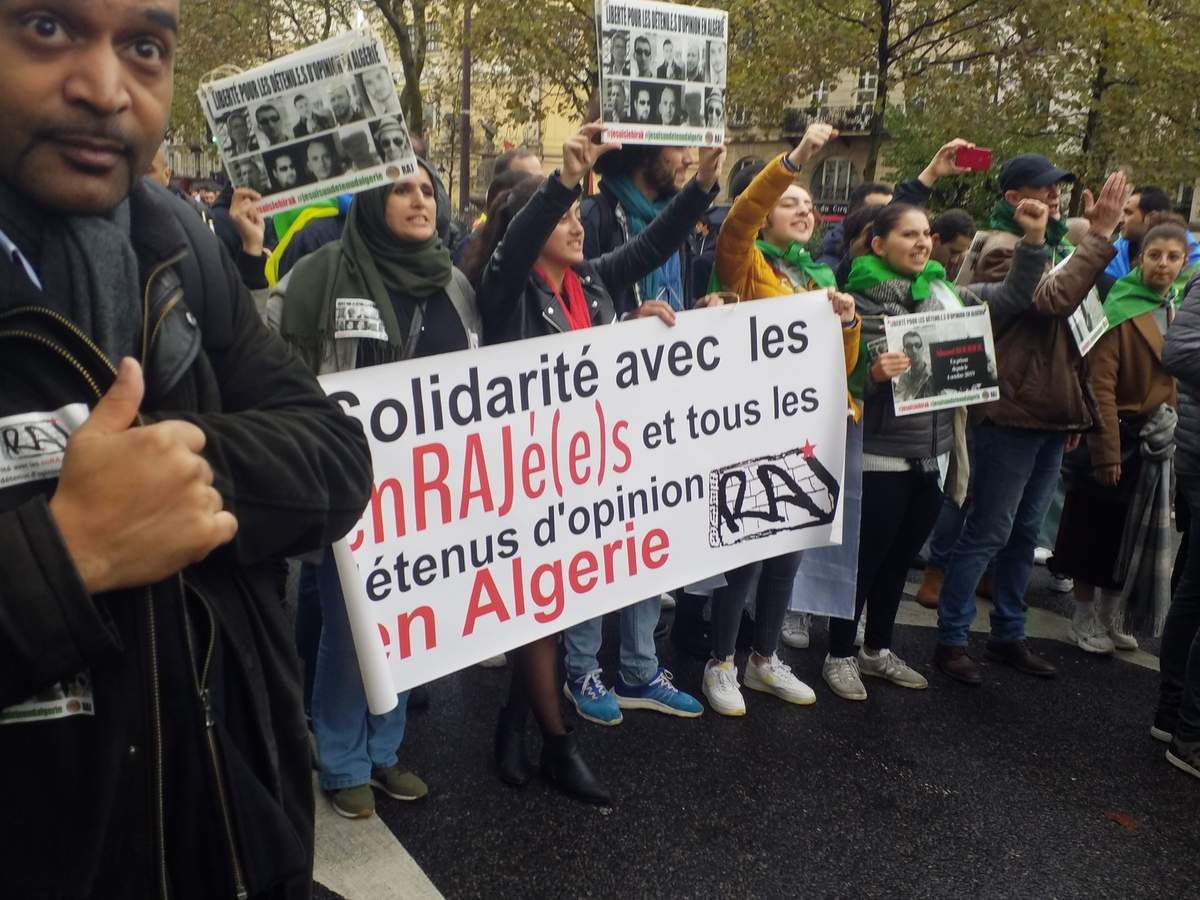 Premier novembre algérien à Paris