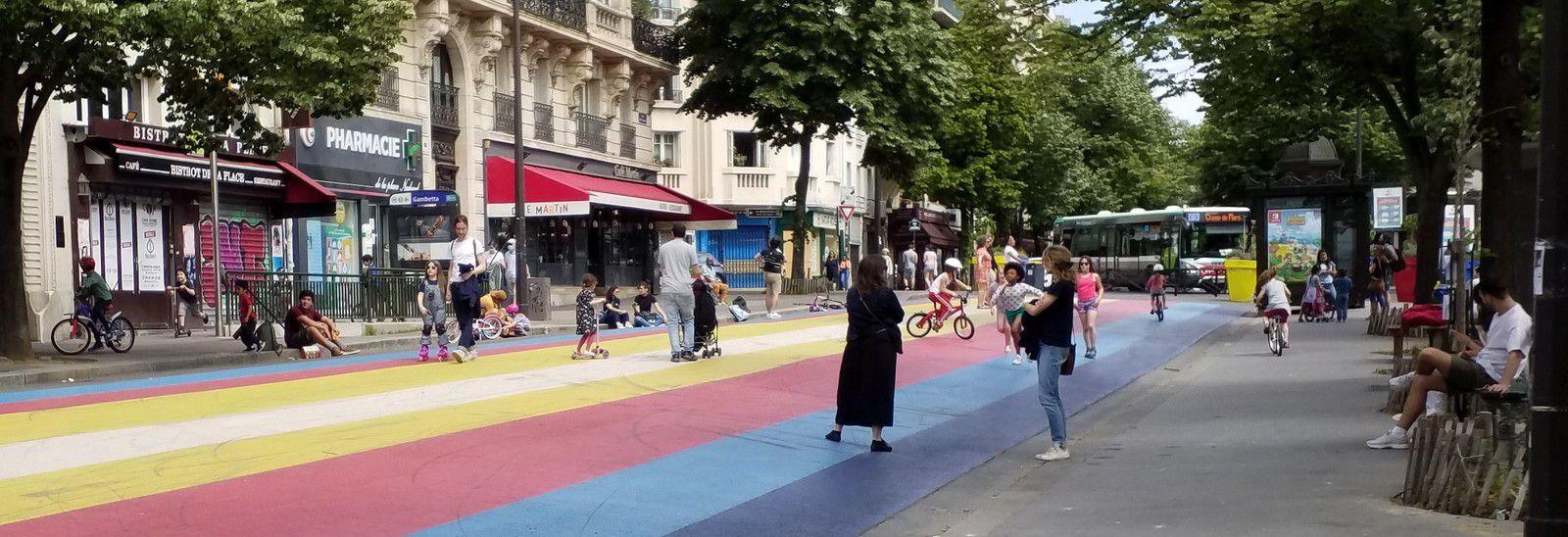 Place Martin Nadaud, bd de Ménilmontnt, r du Pressoir (08/05/20)