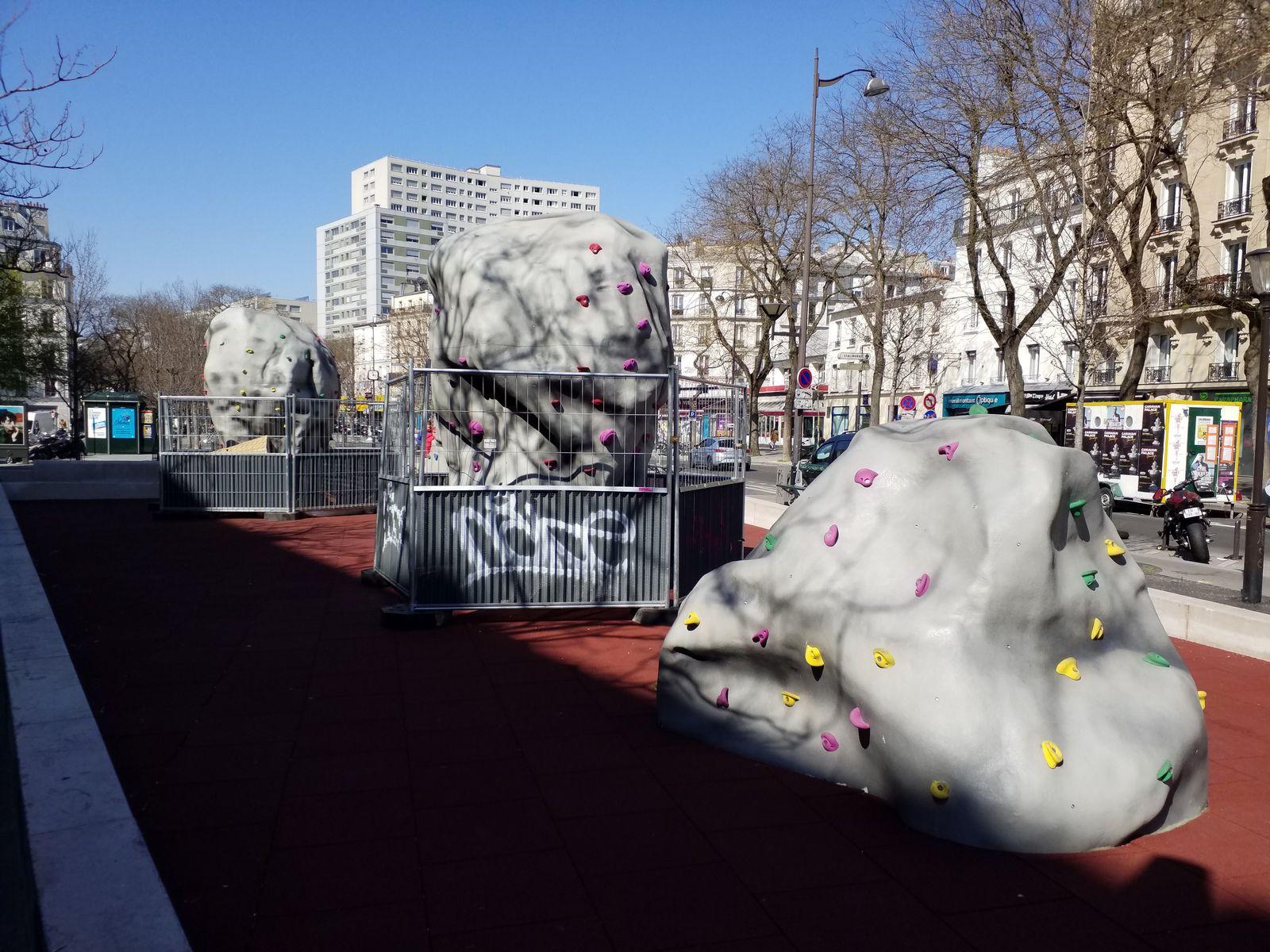 Bd de Belleville (2), bd de Ménilmontant (2) (01/04/20)