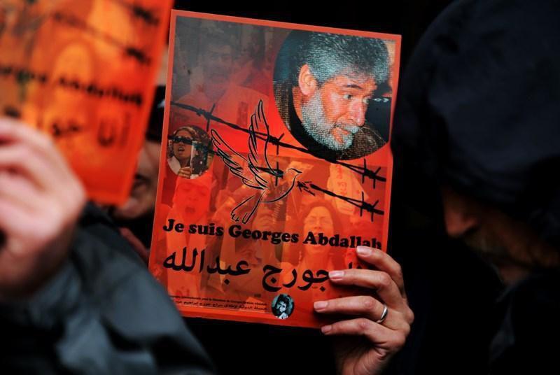 Georges Ibrahim Abdallah. Manifestation ce jour à Beyrouth devant l'ambassade de France au Liban