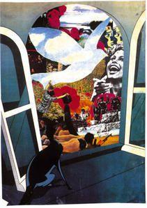 collage de prison de Joëlle Aubron