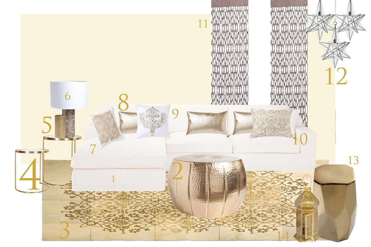 Salon Oriental Moderne Blanc Solutions Pour La