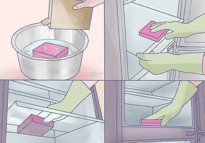 comment nettoyer un refrigerateur sans recours aux produits menagers