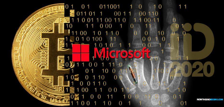 Après avoir financé ID2020, Microsoft dépose le brevet d'un appareil greffé au corps humain permettant les transactions en crypto-monnaie et connecté à un réseau informatique