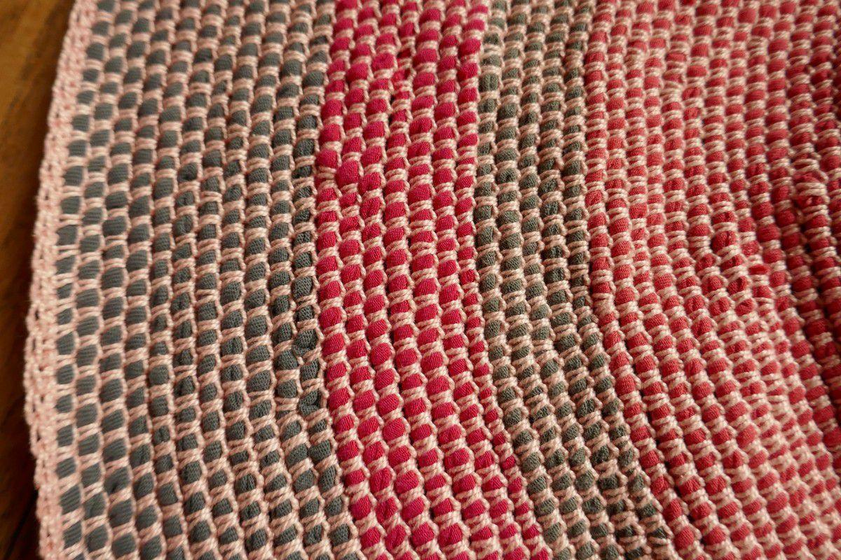 carpette en tissu de recup les