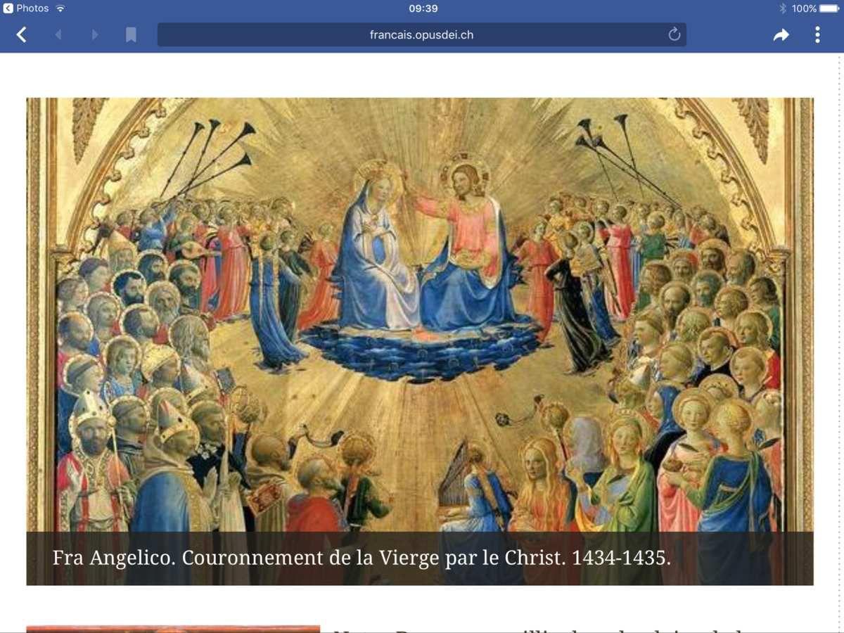 Fête de l' Assomption .Consécration de la France à la Sainte Vierge