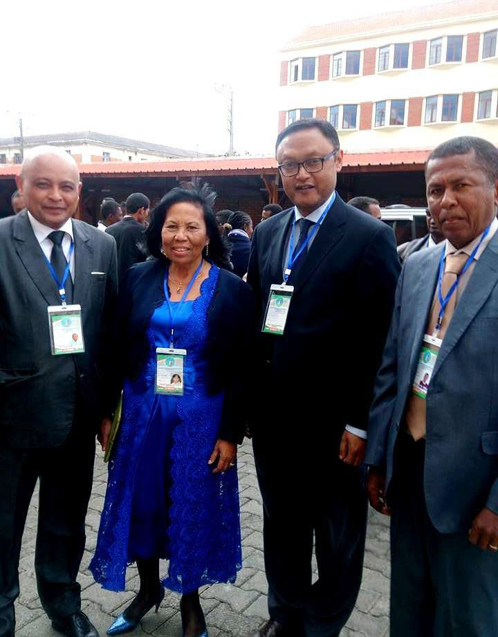 Lapan'ny Tanànan'Antananarivo, 23 Jolay 2016. Kabary tamin'ny Fikaonan-doham-pirenena ho famerenana ireo Nosy malagasy