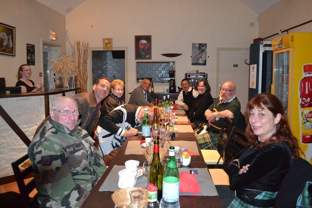 Repas à l'ostréière à Colleville Sur Mer