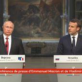 La meilleure de l'année: Selon Macron, RT et Sputnik ne sont pas des organes de presse...mais de propagande - MOINS de BIENS PLUS de LIENS