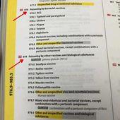 """Des documents d'assurance utilisent l'expression """" Empoisonnement par vaccins """" - MOINS de BIENS PLUS de LIENS"""