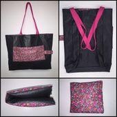 Tuto couture sac pliable - Viny DIY, le blog de tutoriels couture et DIY.