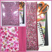 Tuto pochette à rêves, à projets, à documents... - Viny DIY, le blog de tutoriels couture et DIY.