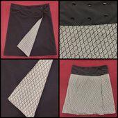 Jupe Réversible Multi Tailles - Tuto Couture Vidéo - Viny DIY, le blog de tutoriels couture et DIY.