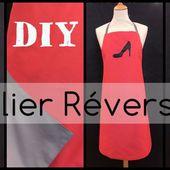 Tablier Réversible - Tuto couture DIY - Viny DIY, le blog de tutoriels couture et DIY.