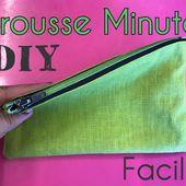 Coudre une Trousse - La Trousse Minute - Tuto Couture Facile - Viny DIY, le blog de tutoriels couture et DIY.