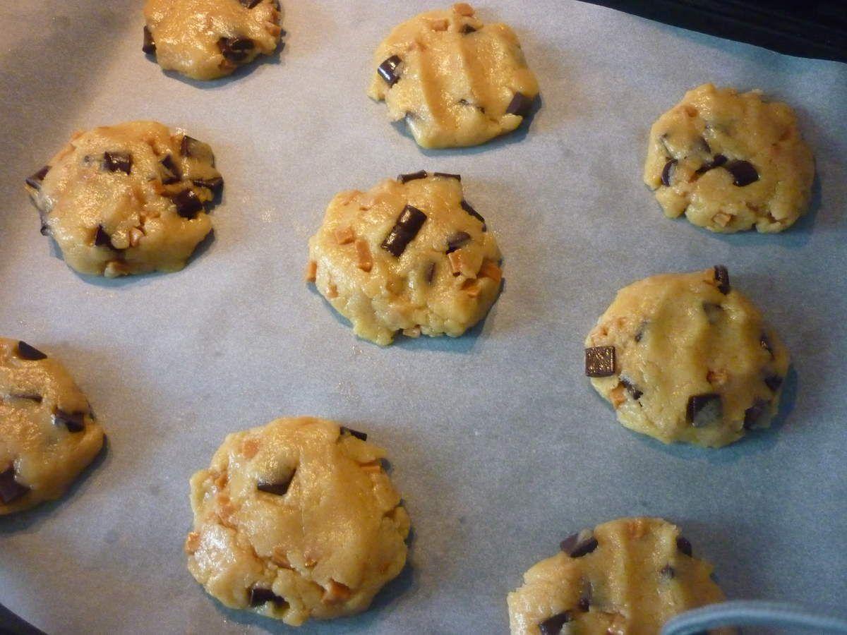 Cookies Bretons caramel & chocolat