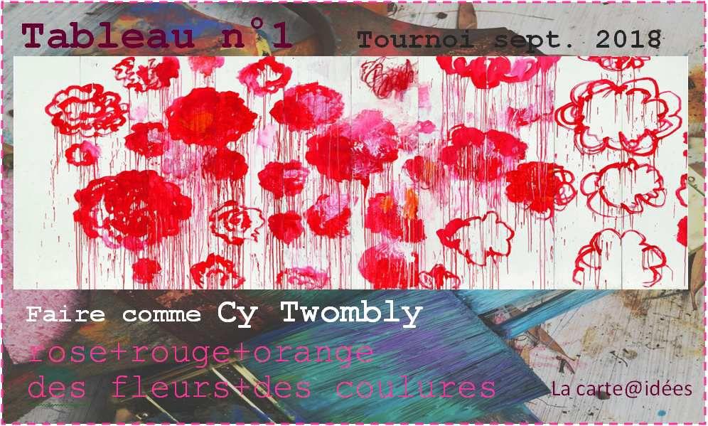 Tournoi : tableau n°1