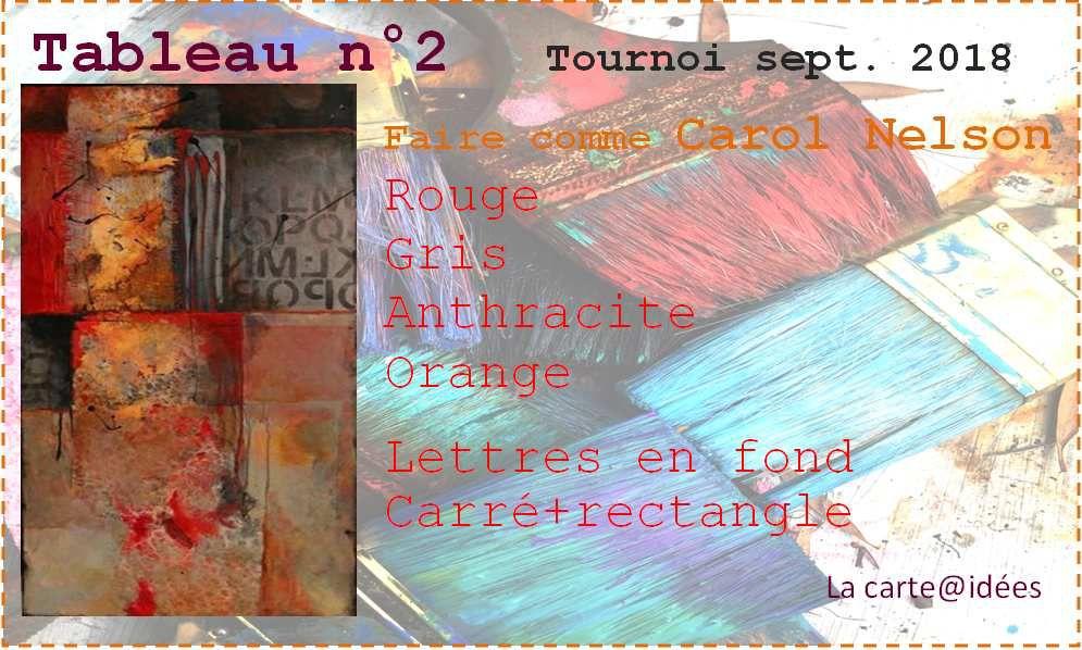 Tournoi : tableau n°2