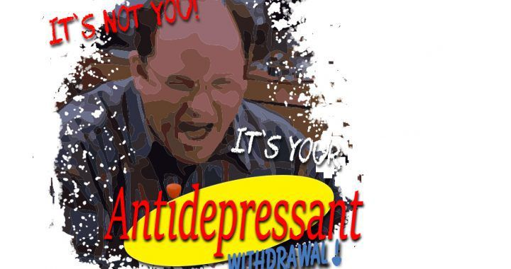 syndrôme prolongé de sevrage aux antidépresseurs