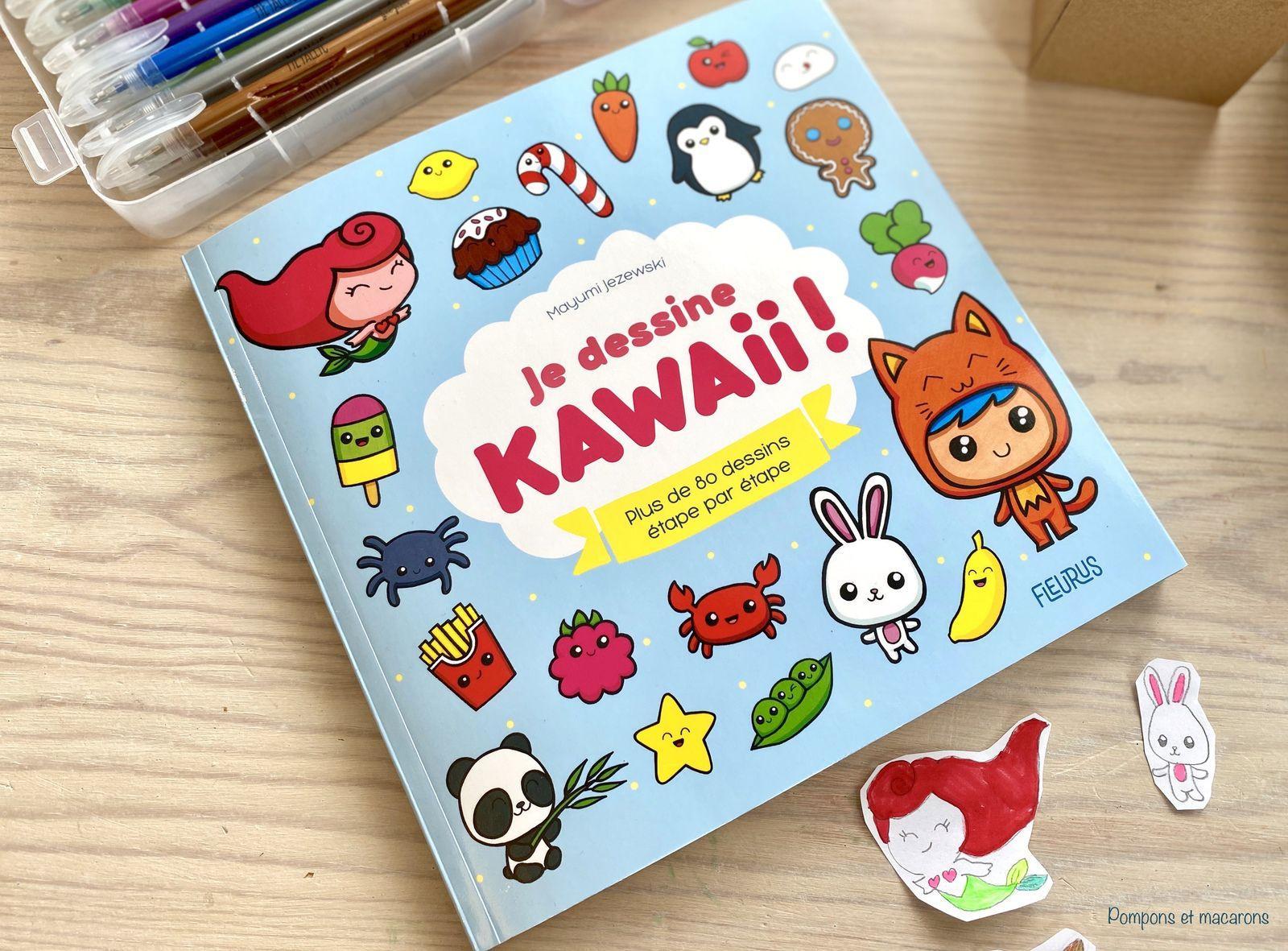 Chut Les Enfants Lisent 15 Je Dessine Kawaii Pompons Et Macarons