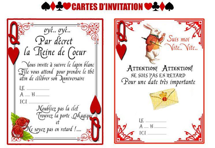 cartes d invitation pour feter son