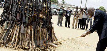 9 juillet, Journée internationale de destruction des armes légères
