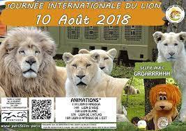 10 Août 2018, journée internationale du lion
