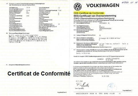 Le certificat de conformité automobile : quelles utilités