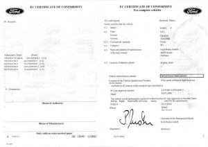 Certificat de Conformité Européen pas cher