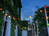 Égayez le jardin ou la terrasse : les guirlandes lumineuses extérieures La Case de Cousin Paul viennent d'arriver!