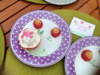 """1: moi et mon amie """"cupcake du jardin"""""""