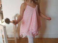 Tuto Couture pdf- Top ou Robe Océane - 1 ou 2 carrés