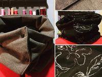 Coudre un snood à pressions - Tuto Couture DIY Vidéo