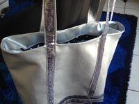 Pose d'une fermeture sur un sac cabas