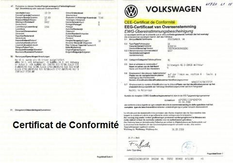 Conformité Volkswagen