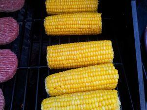 Maïs au barbecue