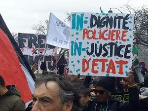 JUSTICE ET DIGNITE, manifestation
