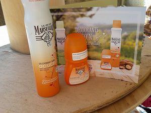 Test ambassadrice : déodorants soin Le Petit Marseillais