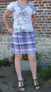 La tunique qui devint une jupe d'été