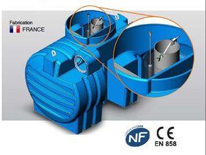 Le séparateur hydrocarbure SPEHDO-A en pack sécurité NF
