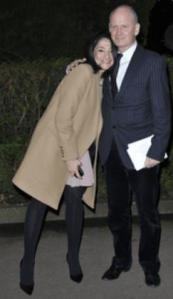 Jeannette Bougrab et Christophe Girard, dîner du Crif, 20.03.13