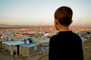 Camp de réfugiés irakiens