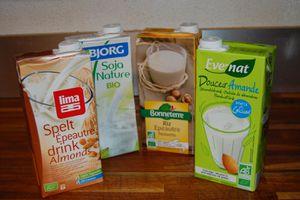Laits et crèmes végétales, comment les utiliser?