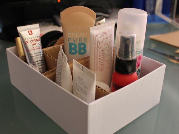 DIY : rangement maquillage