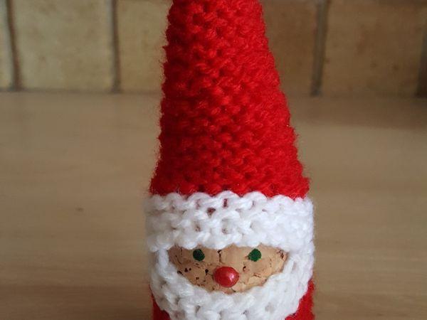 Comment réaliser ce petit père Noël , pour mettre au pied du sapin de Noël ?