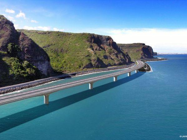 Un projet pharaonique d'autoroute à La Réunion